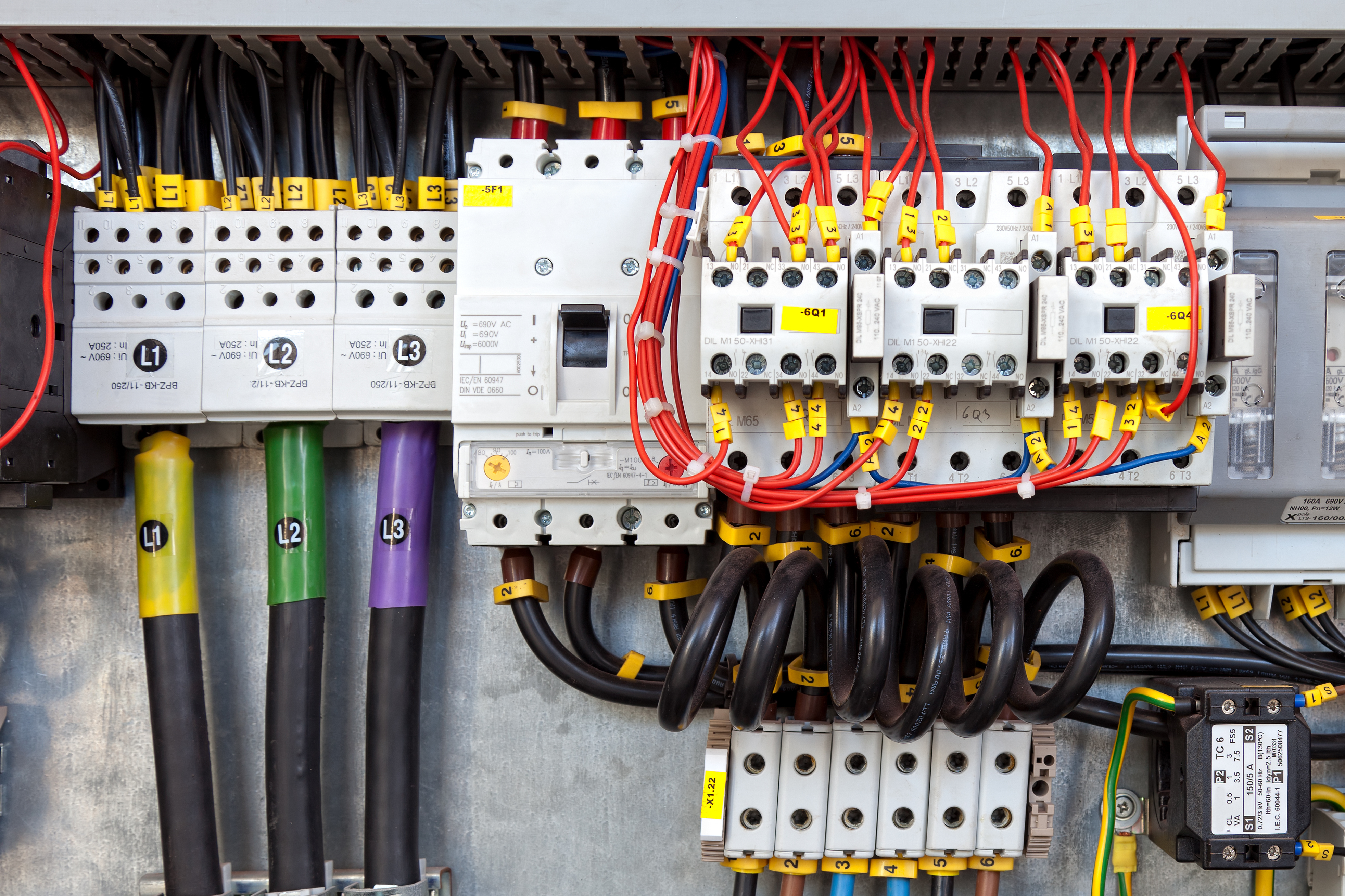 Electrical panel replacement and installation