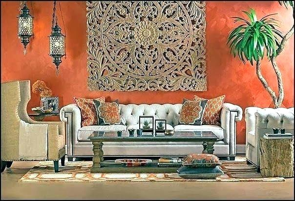 Moroccan design style, the furniture