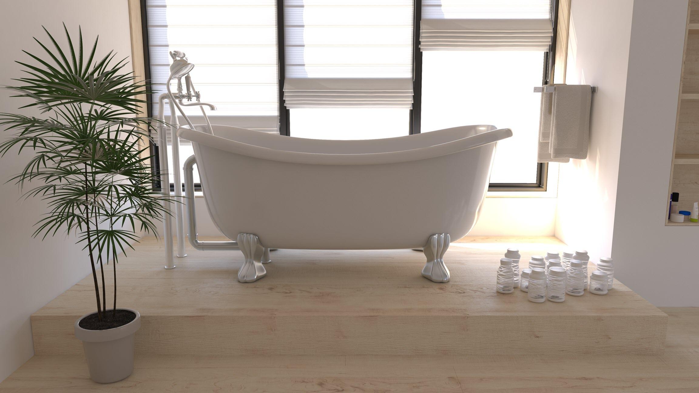 10-Simple-And-Beautiful-Bathroom-Decorating-Ideas-Bathtub-ideas