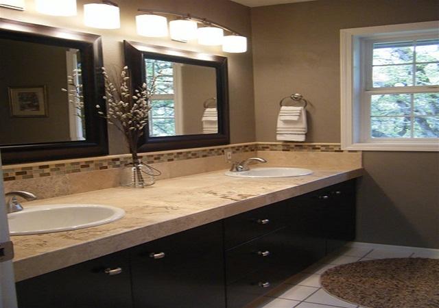 granite-bathroom-countertops-with-sink-plus-large-bathroom-mirrors-with-bathroom-lighting