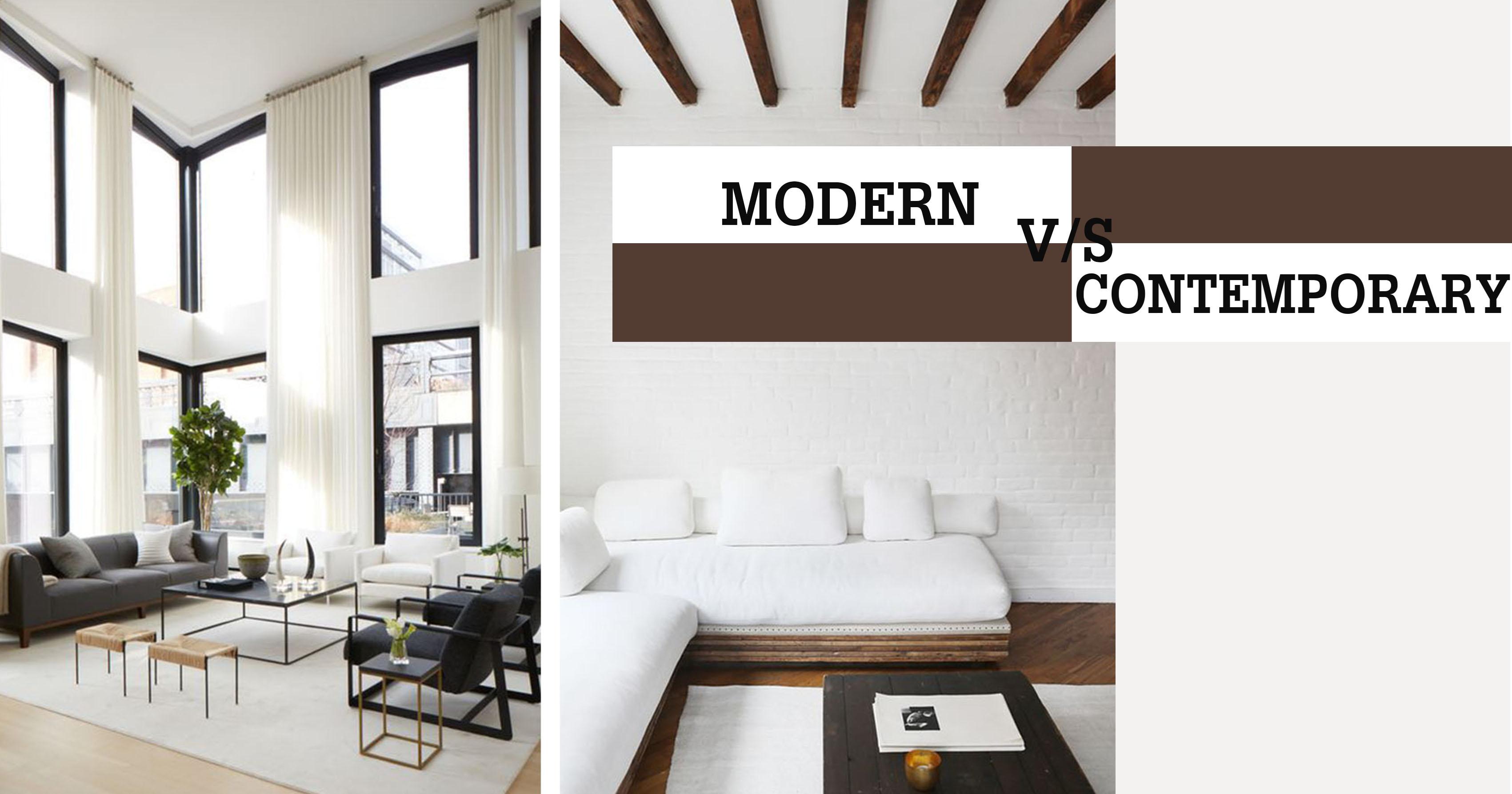 MODERN-VS-CONTEMPORARY