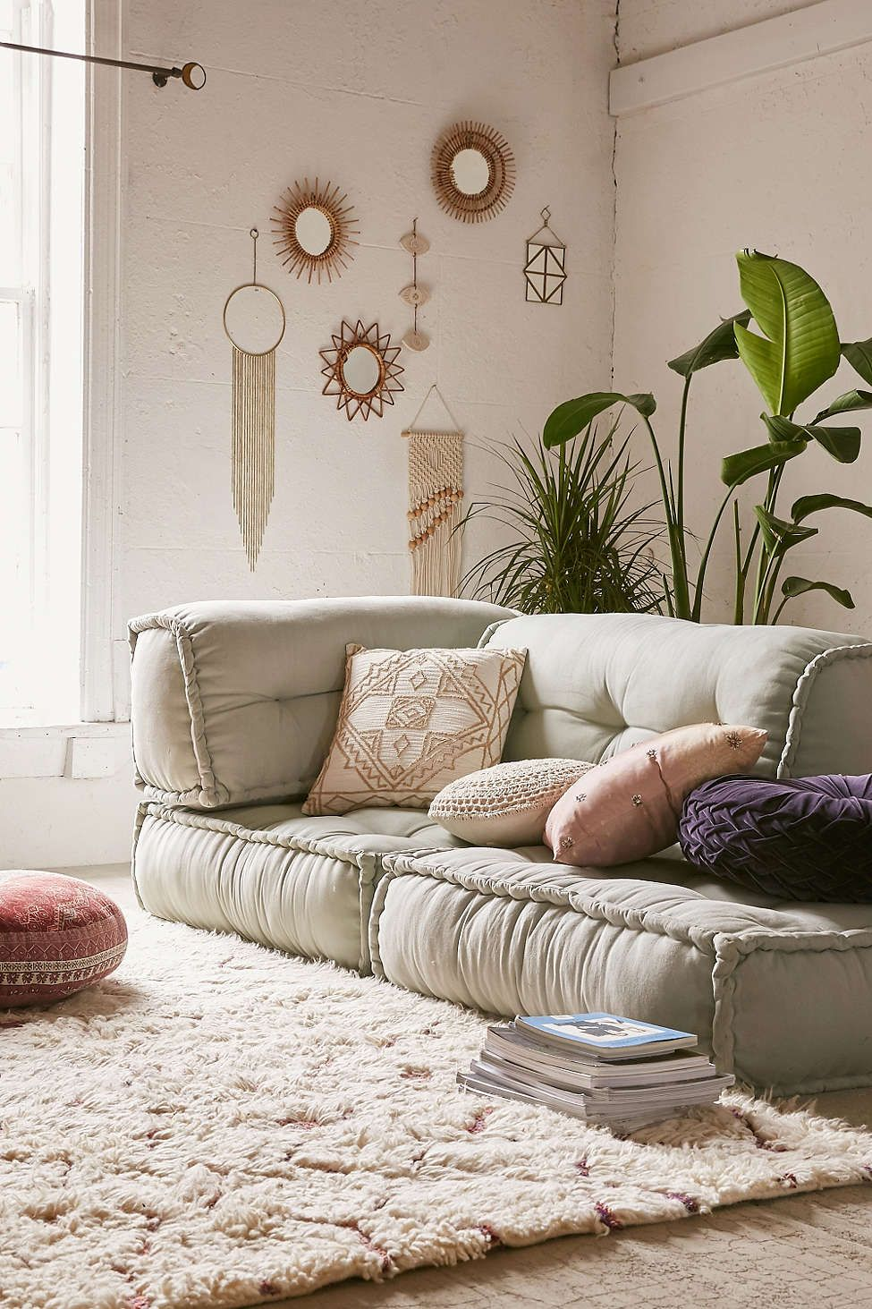 Cozy-Floor-Couch-Sets